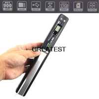 Wholesale Handheld Portable Handy Scanner Photo Document Scanner dpi barcode scanner