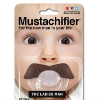 Wholesale Hot in United States beard pacifier funny pacifiers silicone baby mustache pacifier baby s dummy soothers cute teat