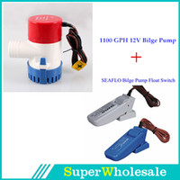Wholesale Hot Sale GPH V Water Bilge Pump with SEAFLO Auto Float Switch Kit