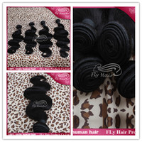 Cheap Brazilian Virgin Remy Human Hair Weaves Hair-extensions Body Wave 8''-30'' Natural Color Soft No Tangle Unprocessed Can Be Dyed and Bleached