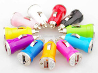 Colorful Universal Bullet Mini USB Car Charger Adapter cigar...
