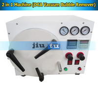 Cheap 2014 New Arrival 2 in 1 machine,OCA lamination+bubble remover machine for broken iphone samsung blackberry LCD repair,no need bubble remover