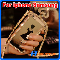 Wholesale Promotion High Quality Transparent TPU Protective Perfume Bottle Phone Case for Samsung S3 S4 S5 Note2 Note3 Iphone S G S Cover