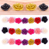 Wholesale New mm Gorgeous Rose Flower Coral Spacer Beads Pink White Yellow Colors