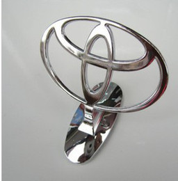 Free shipping Car Bonnet Emblem Badges for Toyota Front Hood Metal Logo Luxury