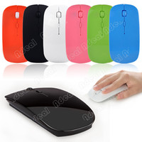Wholesale Slim GHz Wireless Optical Mouse Mice USB Receiver for PC Laptop Colors SV001847