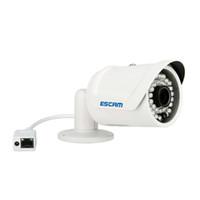 Wholesale wireless ip camera Escam Fighter QD320 H CMOS IP Camera mm Lens Waterproof IR m Internet Camera Night Vision Onvif P2P