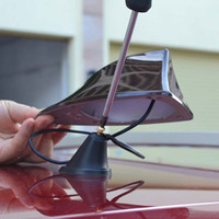 Wholesale Mitsubishi Outlander car signal shark fin with M adhesive With blank radio shark fin antenna