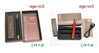 Cheap AAA quality ego vv3 mod ecigarette battery v v3 mega variable voltage battery 1300mah free shipping by DHL