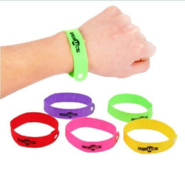 Wholesale 2014 New Arrival Mosquito Repellent Band Bracelets Anti Mosquito Pure Natural Baby Wristband Hand Ring