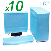 """Cheap 100% High Quality 17"""" LCD Computer   Monitor   Host   Dust Cover 10pcs lot"""