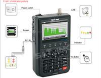 al por mayor satfinder digitales-Envío gratuito satlink WS6912 DVB-S + DVB-S2 8PSK DIGITAL SATÉLITE FINDER METRO REAL TIME SPECTRUM ANALIZADOR satfinder
