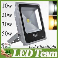Wholesale Ultra Thin Led Flood light w w w w Led Outdoor Lights AC V Beam Angle Waterproof IP66 warm cool white CE SAA FCC CSA UL