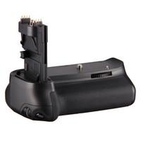 Wholesale BG E9 LP E6 Battery Holder Grip with for Canon EOS D DSLR Camera
