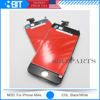 cable assembly - Front Assembly LCD Display Touch Screen Digitizer Replacement Part for iphone G S with original flex cables DHL Free Shiping