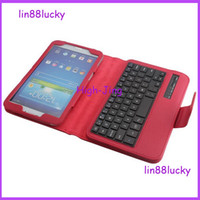 Wholesale Bluetooth wireless ABS Keyboard Case For Samsung Galaxy Tab quot T310 T311 android tablet stand wireless keyboard cases