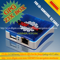 Wholesale The Newest Original GPG Z3x box For Sam Lg Activation with cable set Repair unlock flash damaged IMEI SN Bluetooth etc
