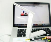 Cheap New LED Portable Folding Lamp USB Battery Desk Table Home Study Reading Fold Light #52543