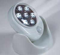 auto porches - Wireless Auto Motion Activated Sensor Light Wall Lamps cordless light Motion Degree V LEDs Rotation night Light White Porch Lights