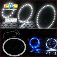Wholesale 2pcs mm LED Angel eyes ring SMD Universal Car Auto Headlight LED halo ring DC12V FREESHIPPING GGG