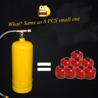 Wholesale OP Brand New Inflatable outdoor air tank Portable outdoor stove gas cylinders Camping Cooker L mm Park Mountain Hot Sal