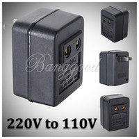 Wholesale 50W Watts US Japan Canada Brazil For AC Power V to V Voltage Converter Adapter Travel Transformer