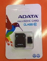 Wholesale 1PCS high speed ADATA GB GB Class Micro SD TF Memory Card USB Reader Adapter Retail Package Flash SDHC C10 Cards Transflash