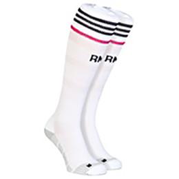 Wholesale 2015 New Season Reals Madrid Home White football socks Top Quality Season Reals Madrid Soccer Socks football stocking