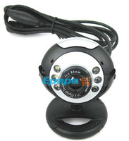 Cheap 1 4 Inch CMOS Digital USB Webcam Web cam PC Camera for Computer Laptop with 6 Night Vision LEDs, Free Shipping