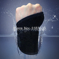 Cheap 3 Colors Wrist Thumb Brace Wrap Support Guard Gym Exercise Weight Lifting Strap Free Shipping