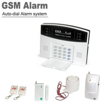 Wholesale Home Security Wireless Auto Dial GSM SMS Burglar House Alarm System Kit AM30