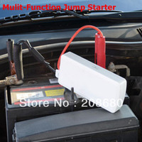 Wholesale Multi Function Jump Starter can be used for car and mobile phone notebook PDA MP3 MP4 with Leather bag Freeshipping AAA