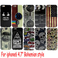 air mouse iphone - Mickey Mouse Case For IPhone6 G quot Vintage American Flag shell mobile phone shell TPU IMD cover case for iphone air plus i6