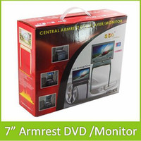 armrest dvd player - 2013 New quot Car Central Console Armrest TFT LCD Monitor Vehicle DVD Player With FM Support USB SD Slot