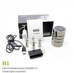 Wholesale 2014 Hot Kelvin portable nargile electronic cigarette hookah shisha h1 hookah e cigarette hookah shisha clearomizer vaporizer h1 hookah head