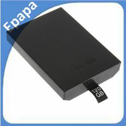 2017 xbox hdd 120GB Slim Interna de la Carcasa de disco duro unidad de disco duro para XBOX 360 Juegos de reproductor de medios, Envío Gratuito descuento xbox hdd