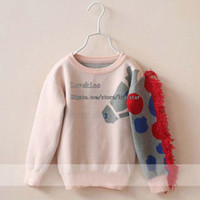 Cheap Kid Long Sleeve Sweaters Girls Pullover Child Clothing Wool Sweaters Kids Pullover Knitted Sweaters Children Sweater Pullover Girl Clothes