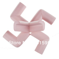 Wholesale 10Pcs Children Soft Safety Anticollision Corner Guards Security Baby Kids Table Desk Corner Protection