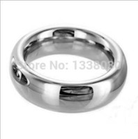 Wholesale Metal Penis Rings Steel Cock Rings Chastity Ring Male Chastity Device bdsm sex delay love ring for male Sex Toys