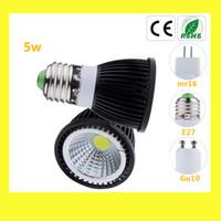 Wholesale Led Light Lamp W GU10 MR16 E27Spotlight Bulb Downlight Lighting