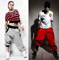 loose pants for women - Fashion Sport Men Women Harem Pants Casual Sport Hip Hop Pants Men Brand Baggy Dance Pants Sweatpants For Men