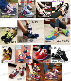 Wholesale New arrivals Women and Men s New Fashion South Korea Joker shoes N letters breathable running shoes sneakers canvas Casual shoes shoe
