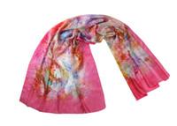 Wholesale women totem scarves womens floral scarf fashion women s porcelain printing scarves wraps shawls head scarf leopard scarf silk scarf12