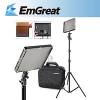 Wholesale off Aputure AL S LED Video TV Light Bi color Lamp Continuous ft Lighting Stand Tripod P0013111