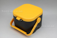 Cheap Worms Maggots Live Bait Box Holder Container Fishing Tackle Case Free Shipping
