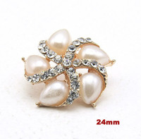 Quilt Accessories Buttons Rhinestones 24mm High quality sea star shape rhinestone buttons with pearl, nice buttons for mink, sewing button for scrapbooking(ss-1647)
