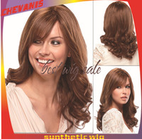 sexy wig - 2014 fashion woman wigs Sexy Womens Girls Fashion Style Wavy Curly Long Hair Human Full Wigs