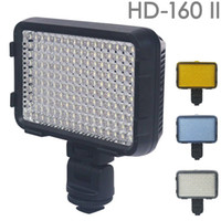 Wholesale Pro HD II LED Video Lamp Light for Canon Nikon Sony DSLR Camera DV Camcorder
