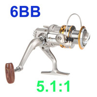 Cheap 6BB Ball Bearings Left Right Hand Interchangeable Collapsible Handle Fishing Spinning Reel SG3000A 5.1:1 Hot Sale 2013 New