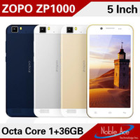 Cheap Wholesale - Ultrathin! ZOPO ZP1000 5.0 Inch OTG MTK6592 Octa Core 1.7GHz Android 4.2 Smart Phone 1GB RAM 16GB ROM GPS 14MP Camera free ship-